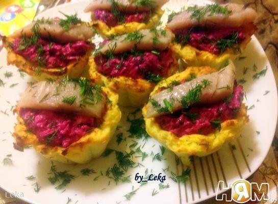 Рецепт приготовления картофельных тарталеток с сельдью | у братана
