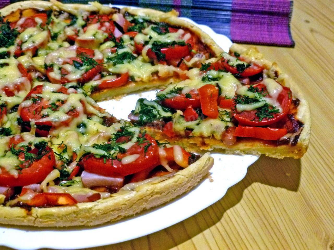 Пицца со свининой: рецепт и фото