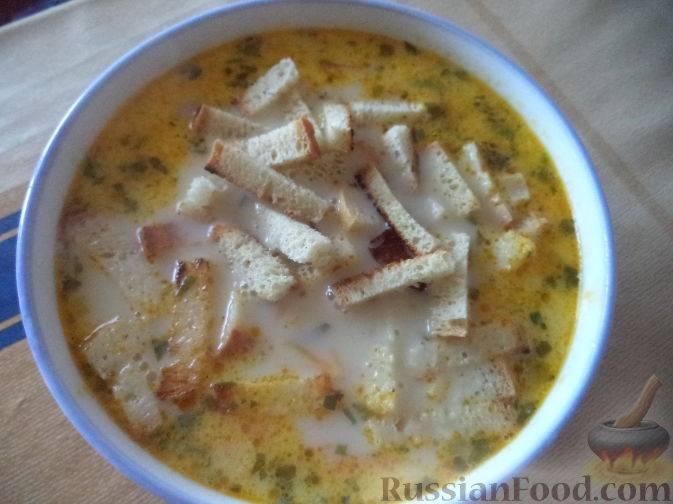 Сырный суп с плавленым сыром - 5 простых и вкусных рецептов с фото пошагово