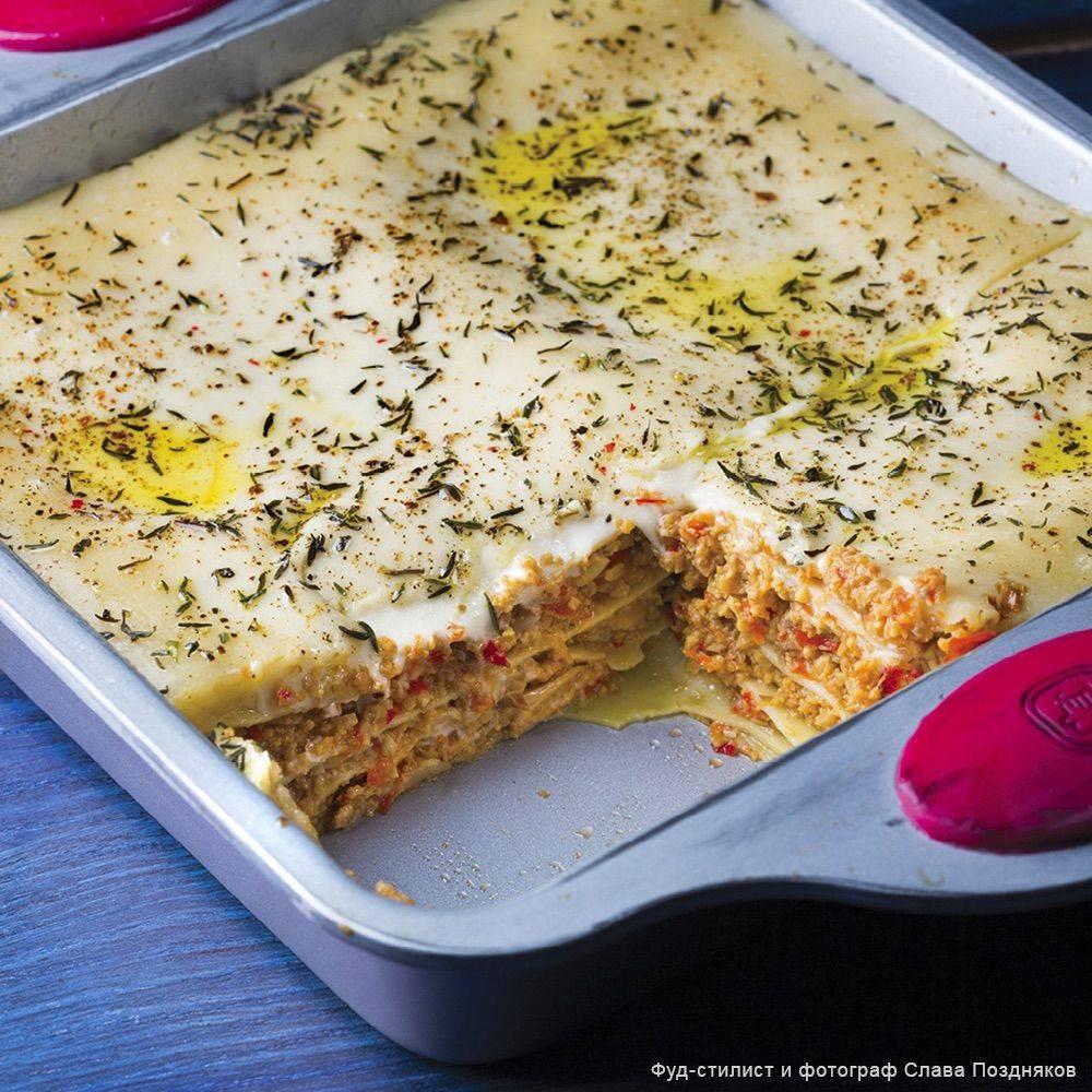 Овощная лазанья - рецепты джуренко