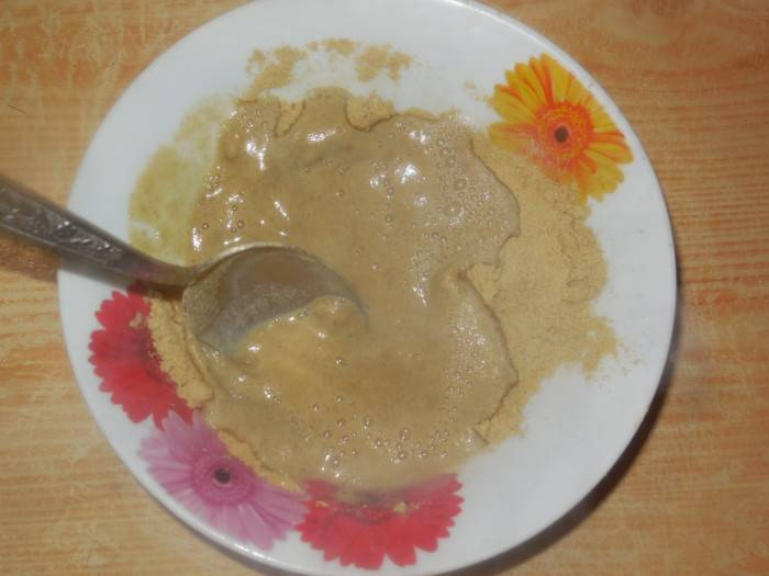 Домашняя горчица из горчичного порошка