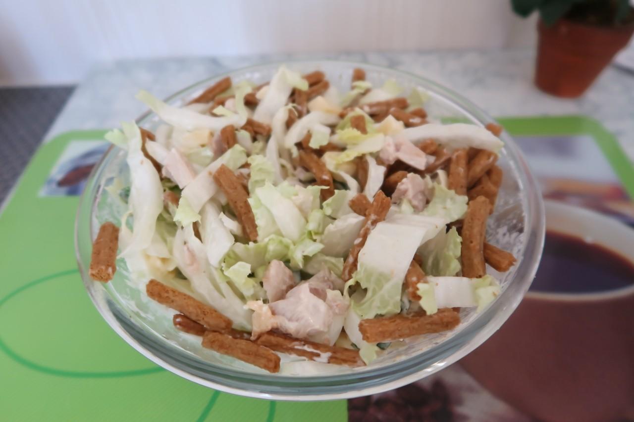 Салат «цезарь» на праздничный стол