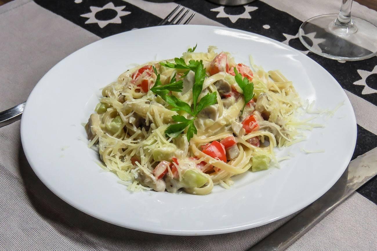 Паста с овощами рецепты с фото