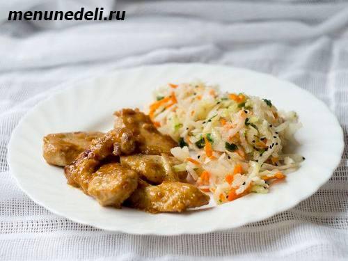 Курица в медово-имбирном маринаде с апельсинами - 10 пошаговых фото в рецепте