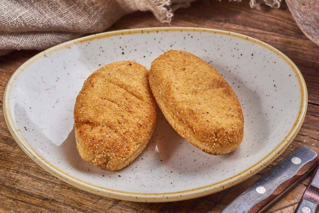Мчади из кукурузной муки лепешка по грузински