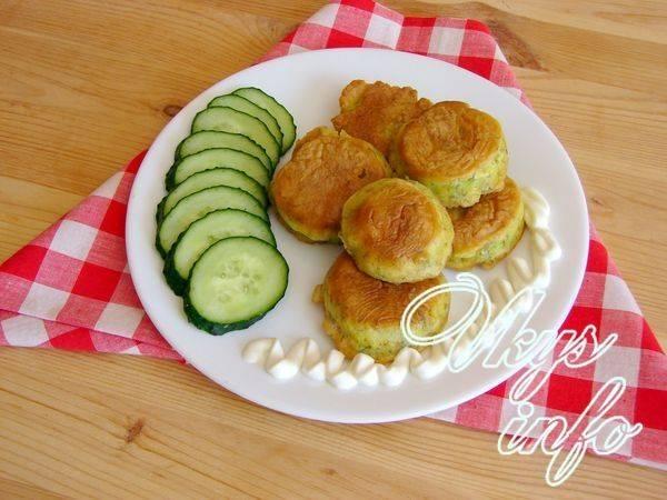 Кабачки в сырном кляре. пошаговый рецепт с фото • кушать нет