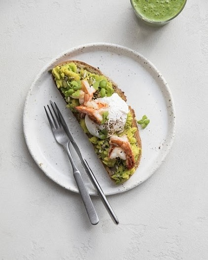 Простые завтраки с авокадо - статьи на повар.ру