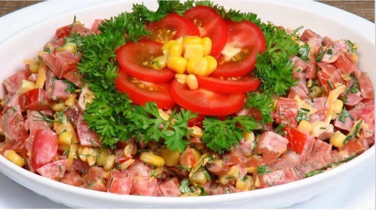 Летний салат с сырными шариками (+ рецепт их приготовления)