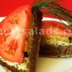 Бутерброды праздничные