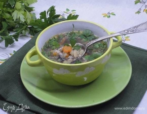Грибной суп за несколько минут