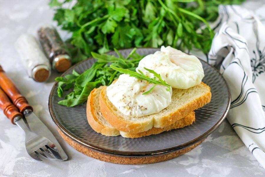 Чтобы яйца пашот получались идеальными
