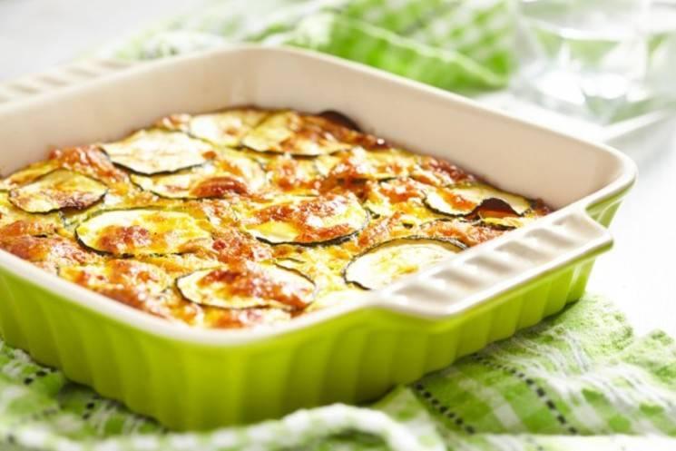 Рецепт кабачков с сыром в духовке - 6 пошаговых фото в рецепте