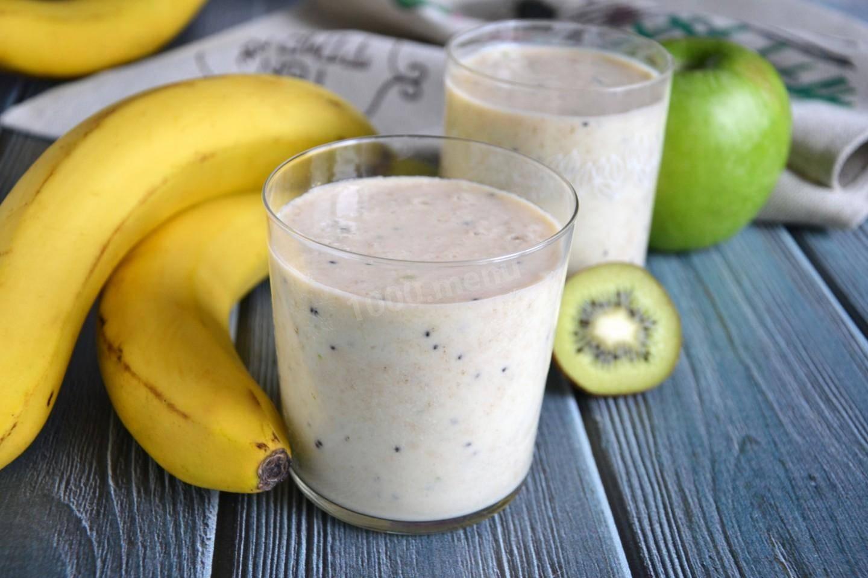 Молочно-банановое желе