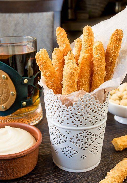 Как сделать сырные палочки - рецепт с фото