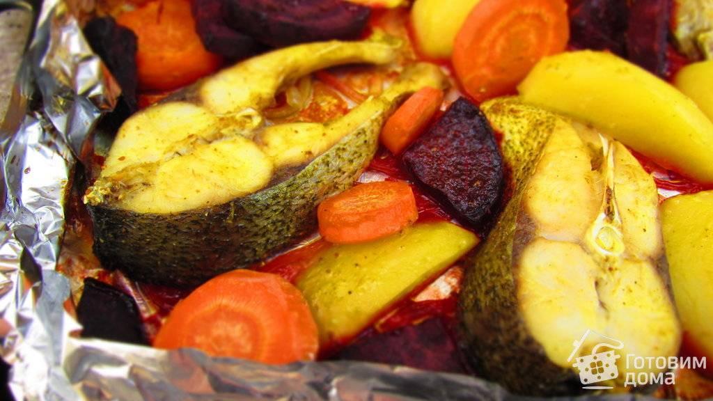 Как запечь толстолобика в духовке кусочками - 13 пошаговых фото в рецепте