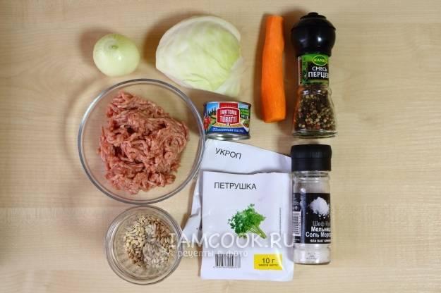 Ленивые голубцы в томатном соусе в духовке: рецепт с фото пошагово