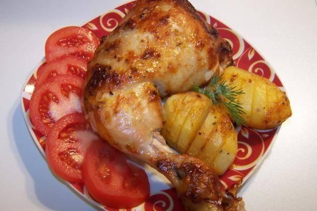 Куриные ножки в аджике в духовке - 6 пошаговых фото в рецепте