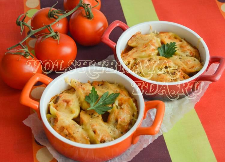 Фаршированные макароны ракушки с фаршем рецепт с фото на webspoon.ru