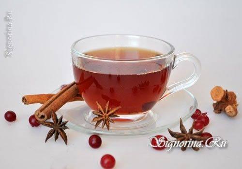 Как приготовить имбирный чай с клюквой – пошаговый рецепт