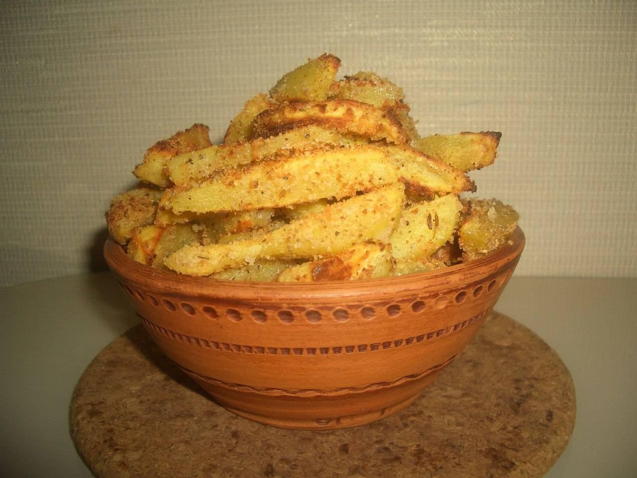 Молодой картофель в сухарях рецепт с фото, готовим запеченный молодой картофель в сухарях на webspoon.ru