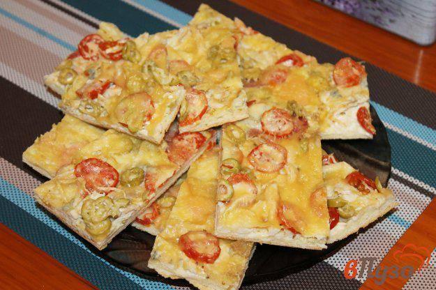 Пицца с колбасой, беконом, мясом - рецепты джуренко