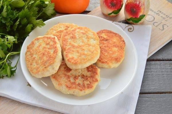 Мясные нежные котлеты с манкой вместо хлеба