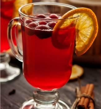 Лучшие рецепты клюквенного чая