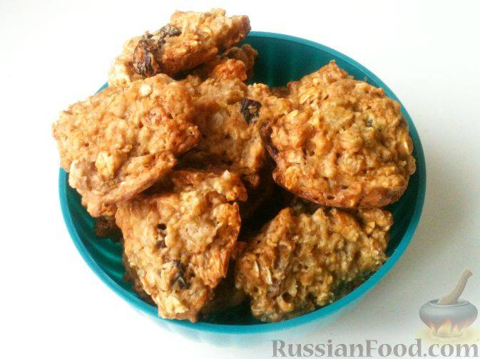 Рецепт печенья с курагой