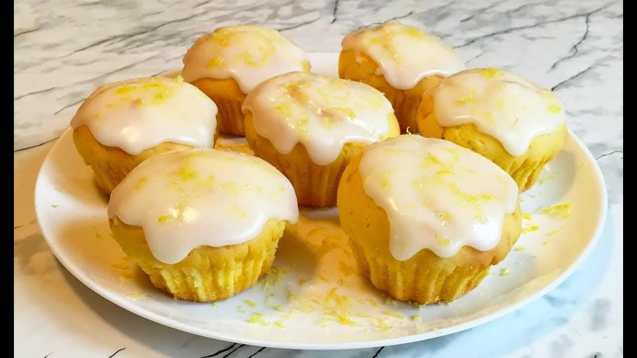 Быстрые лимонные кексы