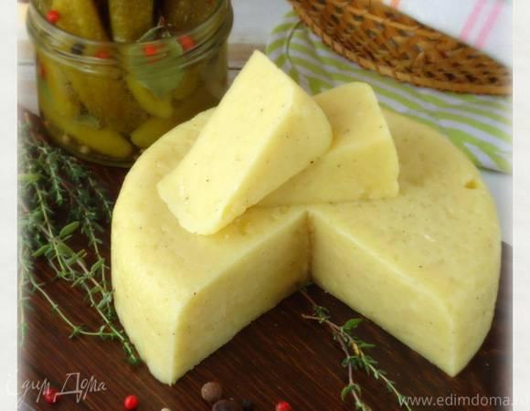 Пошаговый рецепт приготовления сыра из творога в домашних условиях