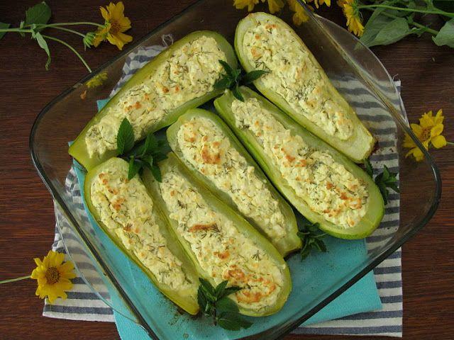 Фаршированные кабачки с фаршем и рисом в духовке. пошаговый рецепт • кушать нет