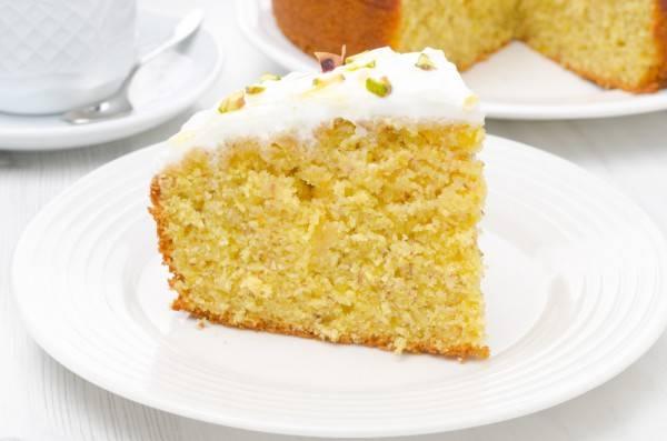 Пирог с апельсинами: простой рецепт с фото