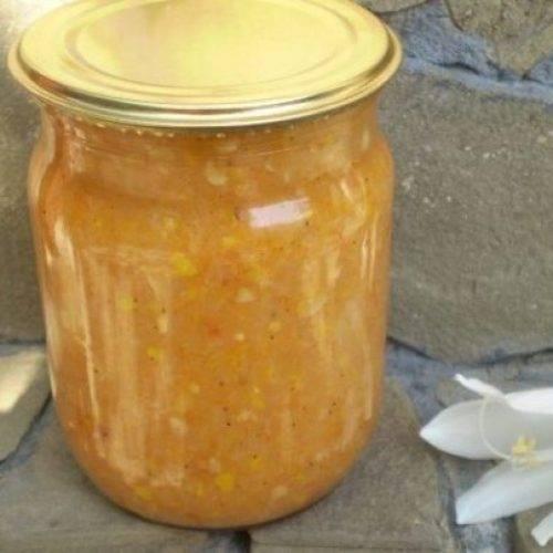 Кабачковая икра с майонезом на зиму — рецепт как в магазине