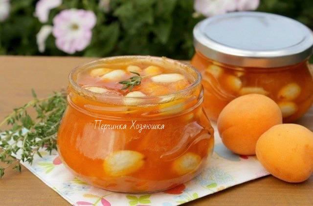 Рецепты абрикосового варенья с разными орехами - спрячьте оранжево-ореховое лето  в банку -  заготовки от перчинки - perchinka hozyayushka.ru