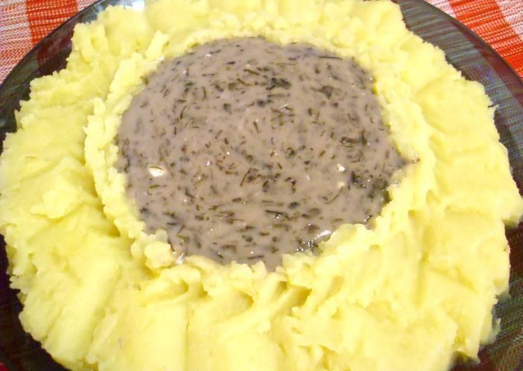 Запеканка картофельная под сливочным соусом рецепт с фото