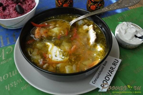 Суп с овсянкой