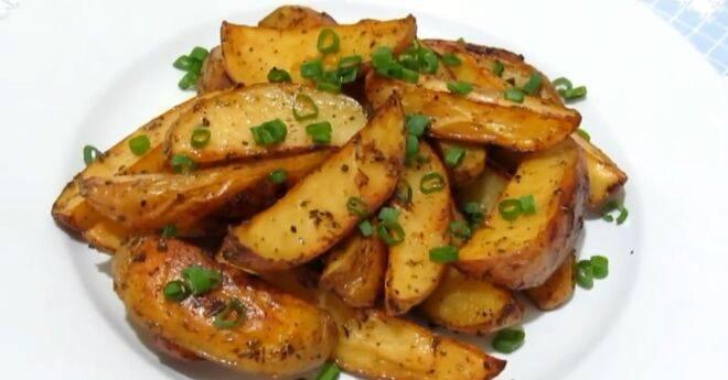 Картофель с салом - 6 пошаговых фото в рецепте