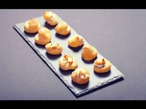 Профитроли в домашних условиях: рецепт с пошаговыми фото
