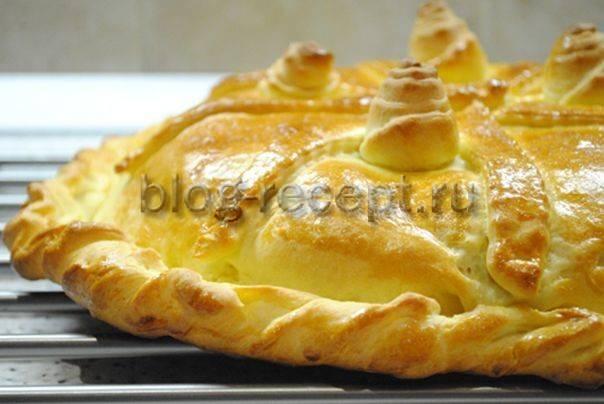 Пирожки с начинкой из курицы и яиц
