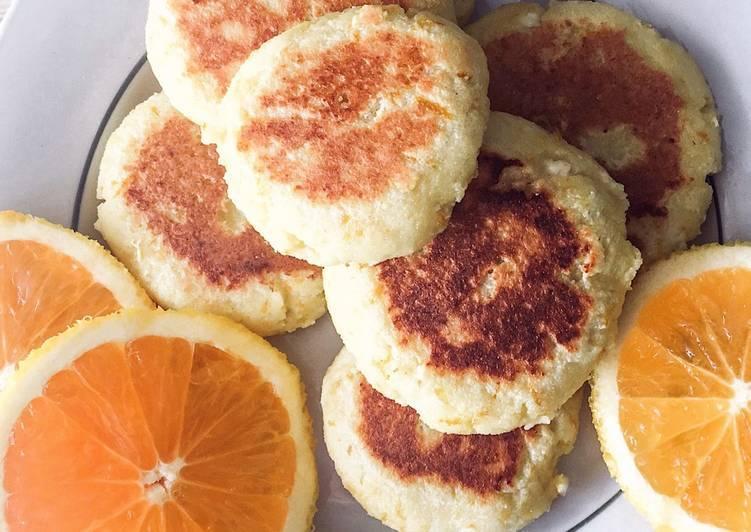 Апельсиновый сырник-пирог