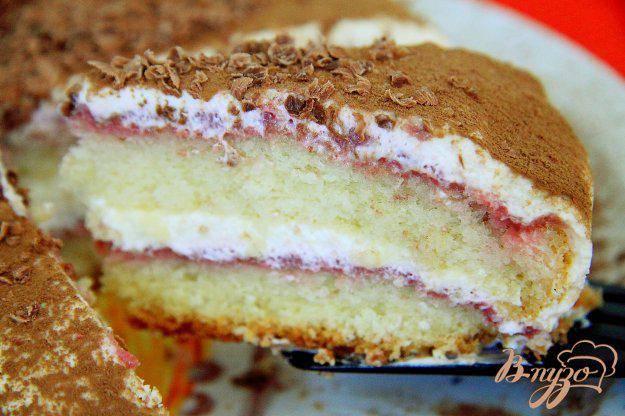 Торт с малиной - пошаговые рецепты приготовления шоколадного, бисквитного, творожного или песочного