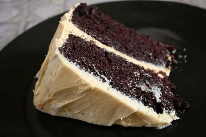 Торт «негр в пене» с вареньем и без: рецепты с фото пошагово