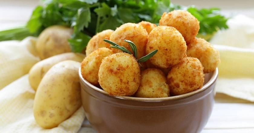 Рецепты картофельные крокеты