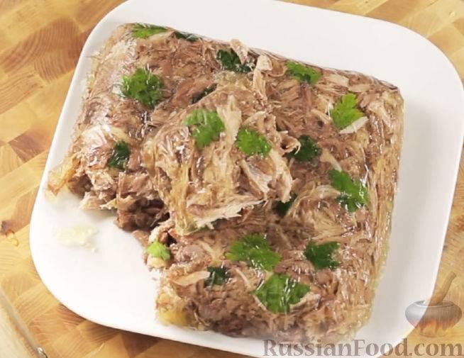 Холодец (студень) из говядины: классические рецепты приготовления говяжьего холодца