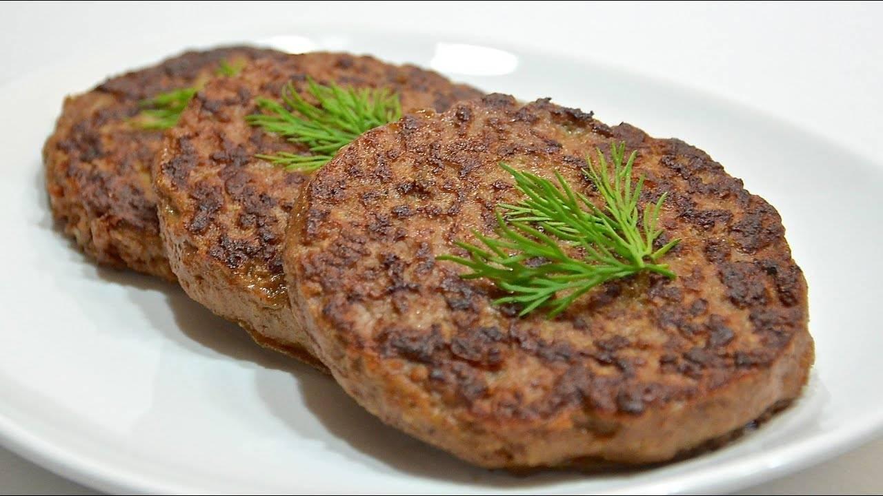 Котлеты из печени говяжьей рецепт с фото