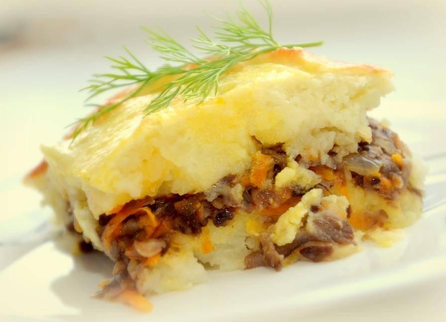 Запеканка из шампиньонов и картофеля в духовке: рецепт блюда