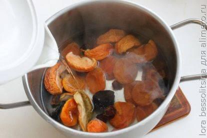 Узвар - пошаговый рецепт с фото |  напитки