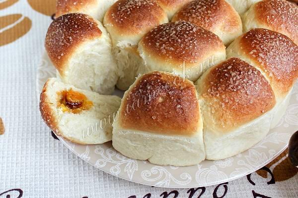 Булочки с повидлом — лучшие рецепты. как правильно и вкусно приготовить булочки с повидлом
