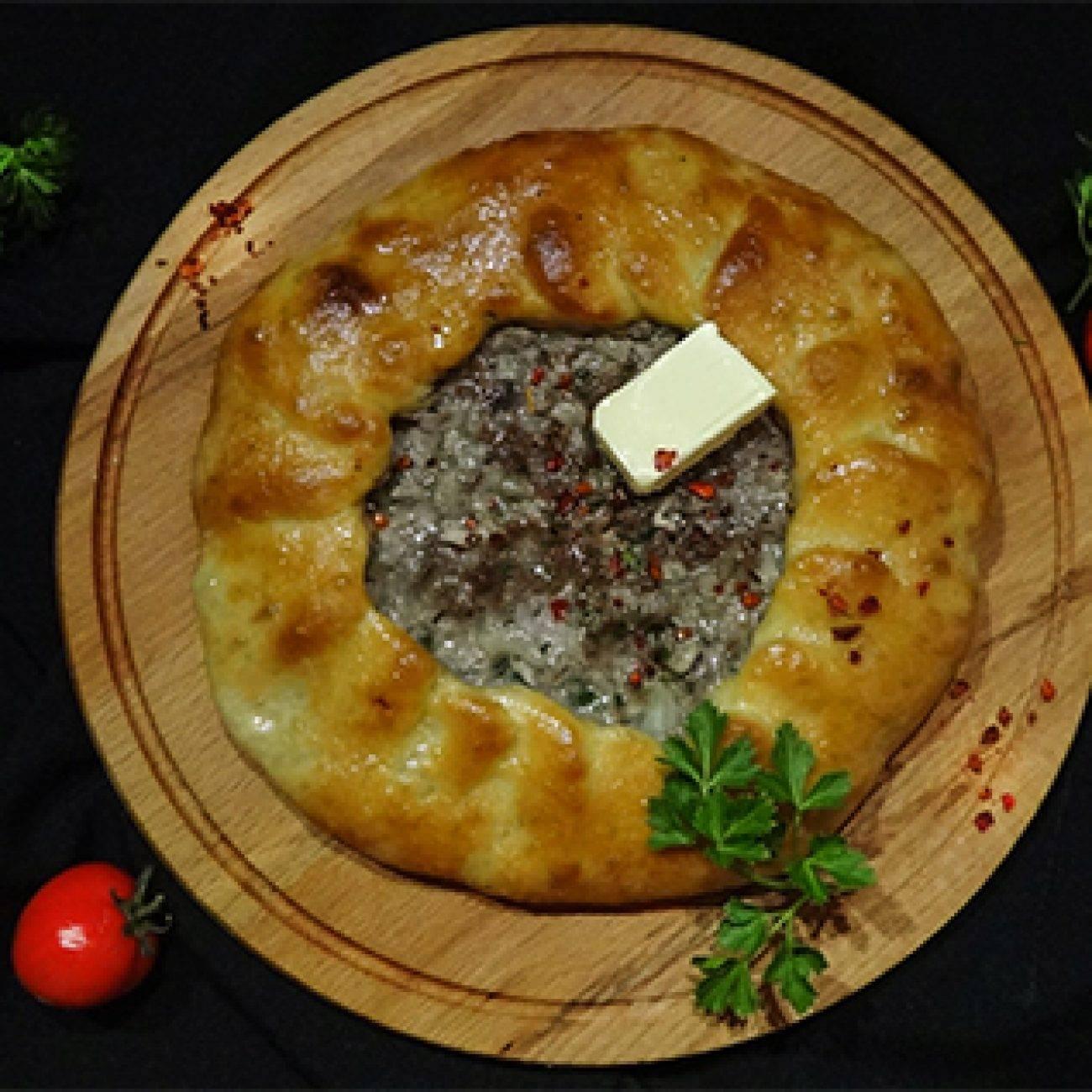 Хычины с мясом — очень вкусное и легкое в приготовлении блюдо