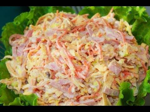 Салаты с копченой курицей – 9 простых и вкусных рецептов
